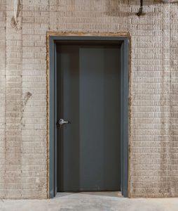 Utility closet entrance