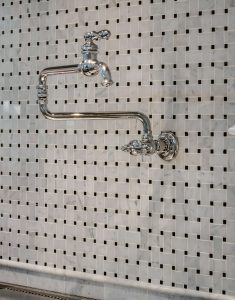 Over-stove faucet