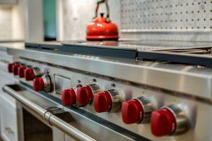 Professional-grade stove