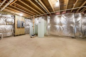 Electrical panel and heating/water system