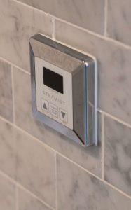 Shower steam control