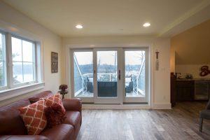 Doors to second floor terrace